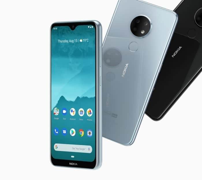 Diseño final de los Nokia 7.2 y Nokia 6.2