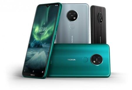Diseño premium de los Nokia 6.2 y Nokia 7.2
