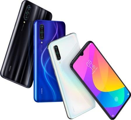 Xiaomi Mi 9 Lite en distintos colores