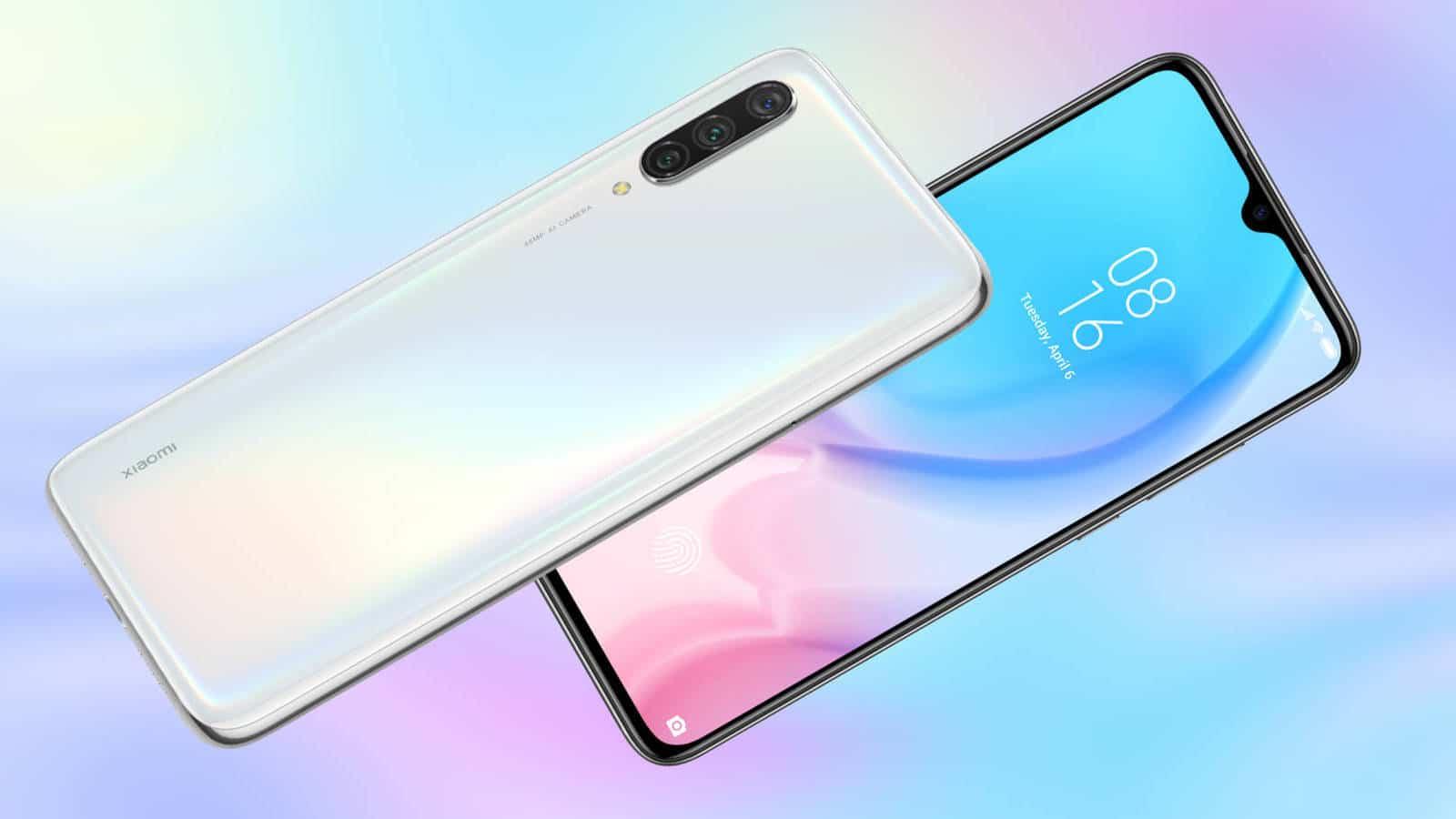 Xiaomi Mi 9 Lite en blanco perla