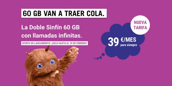 La Doble Sinfín 60 GB