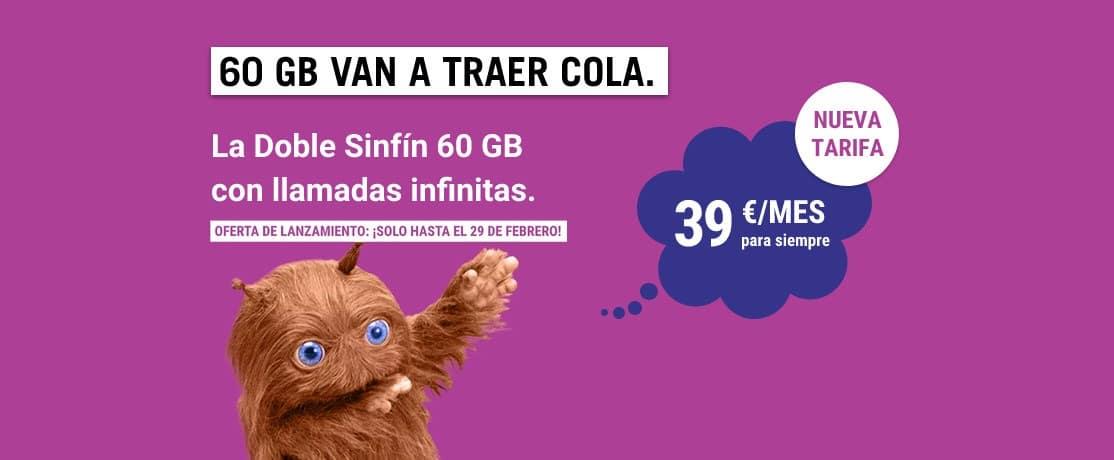 La Doble Sinfín 60 GB