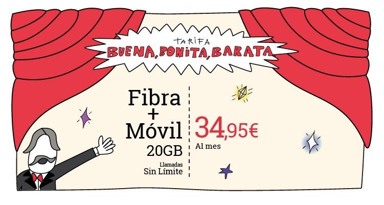 Fibra + Móvil Lowi