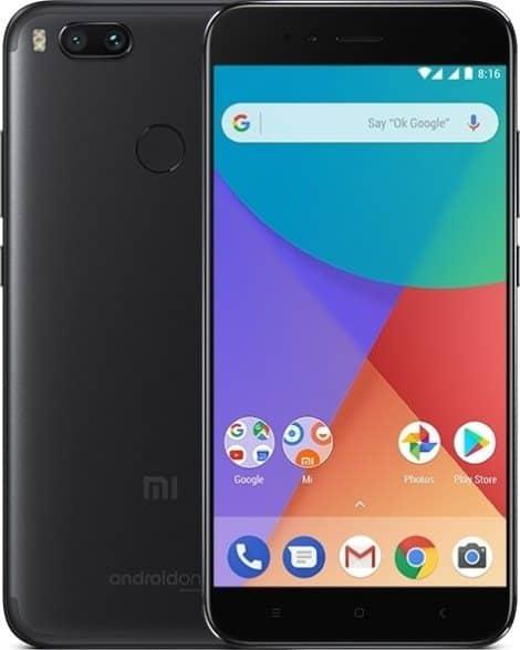 Diseño del Xiaomi Mi A1